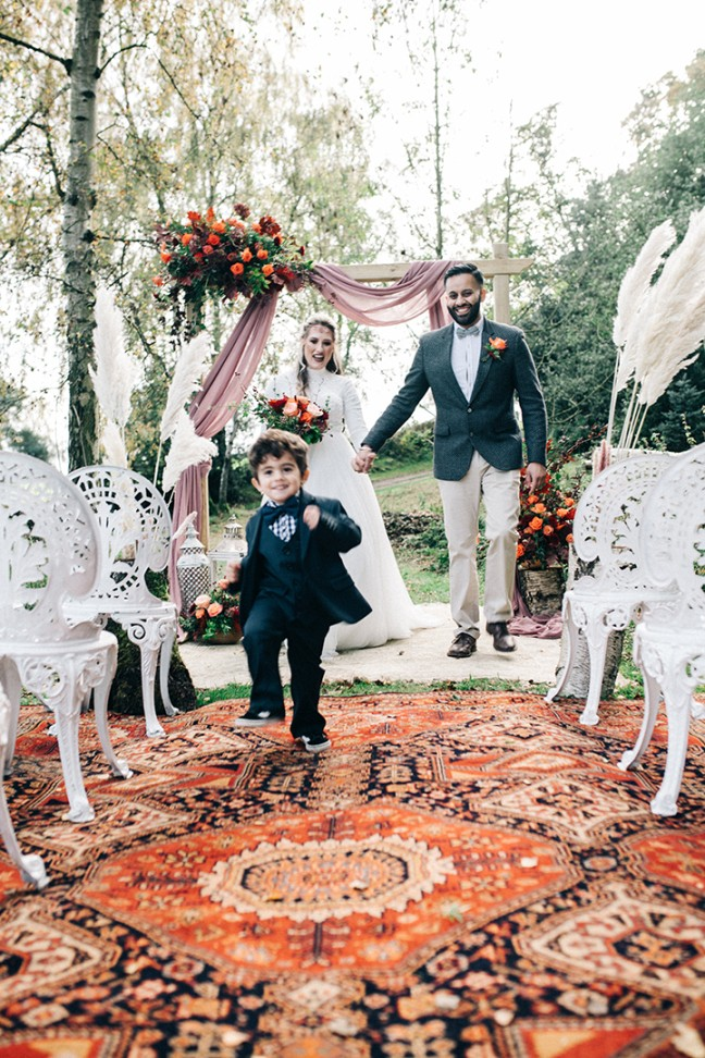 boho luxe - bohemian wedding ceremony - bohemian wedding prop hire
