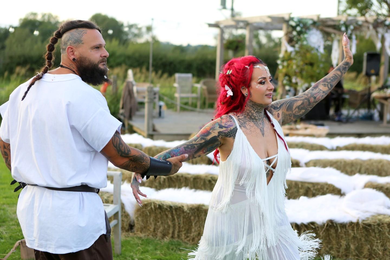 festival viking wedding - alternative wedding inspiration - unconventional wedding - alternative wedding blog and directory