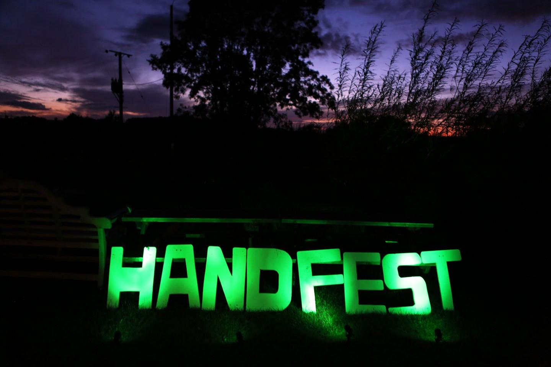 DIY festival wedding neon sign