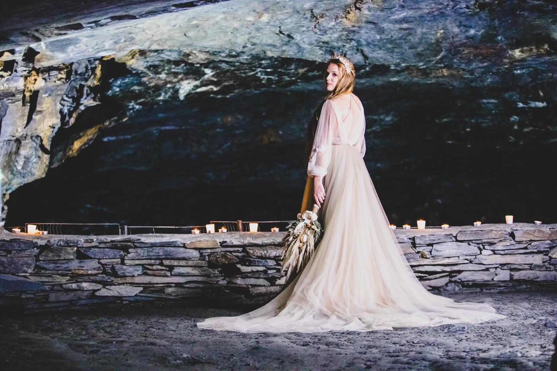 cave wedding - alternative wedding venue - unconventional wedding directory