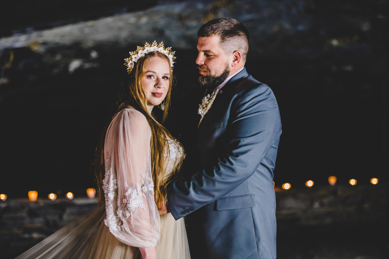 cave wedding - alternative wedding venue - unconventional wedding - alternative wedding blog