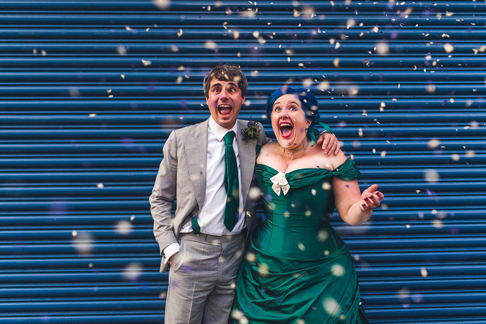 fun wedding day - unique wedding ideas - unconventional wedding