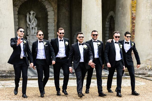 fun groomsmen photo - Steve Mulvey Photography - relaxed wedding photography - natural wedding photography - unique wedding photography - unconventional wedding