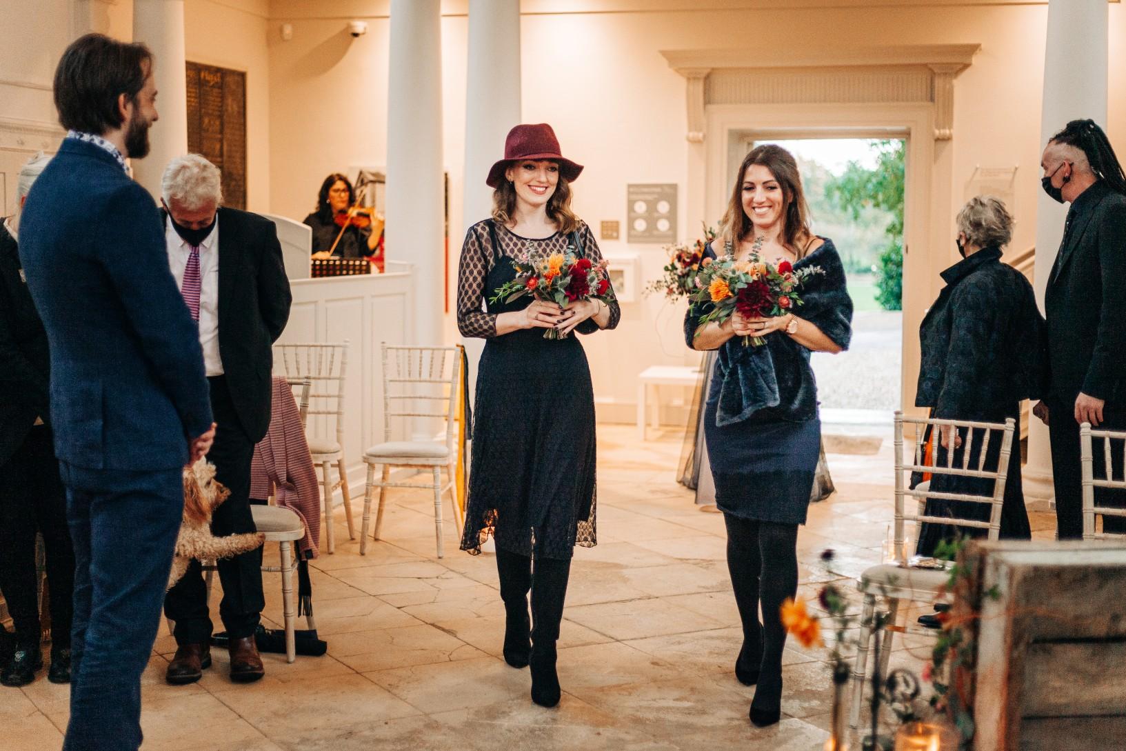 intimate alternative wedding - alternative micro wedding - small wedding inspiration