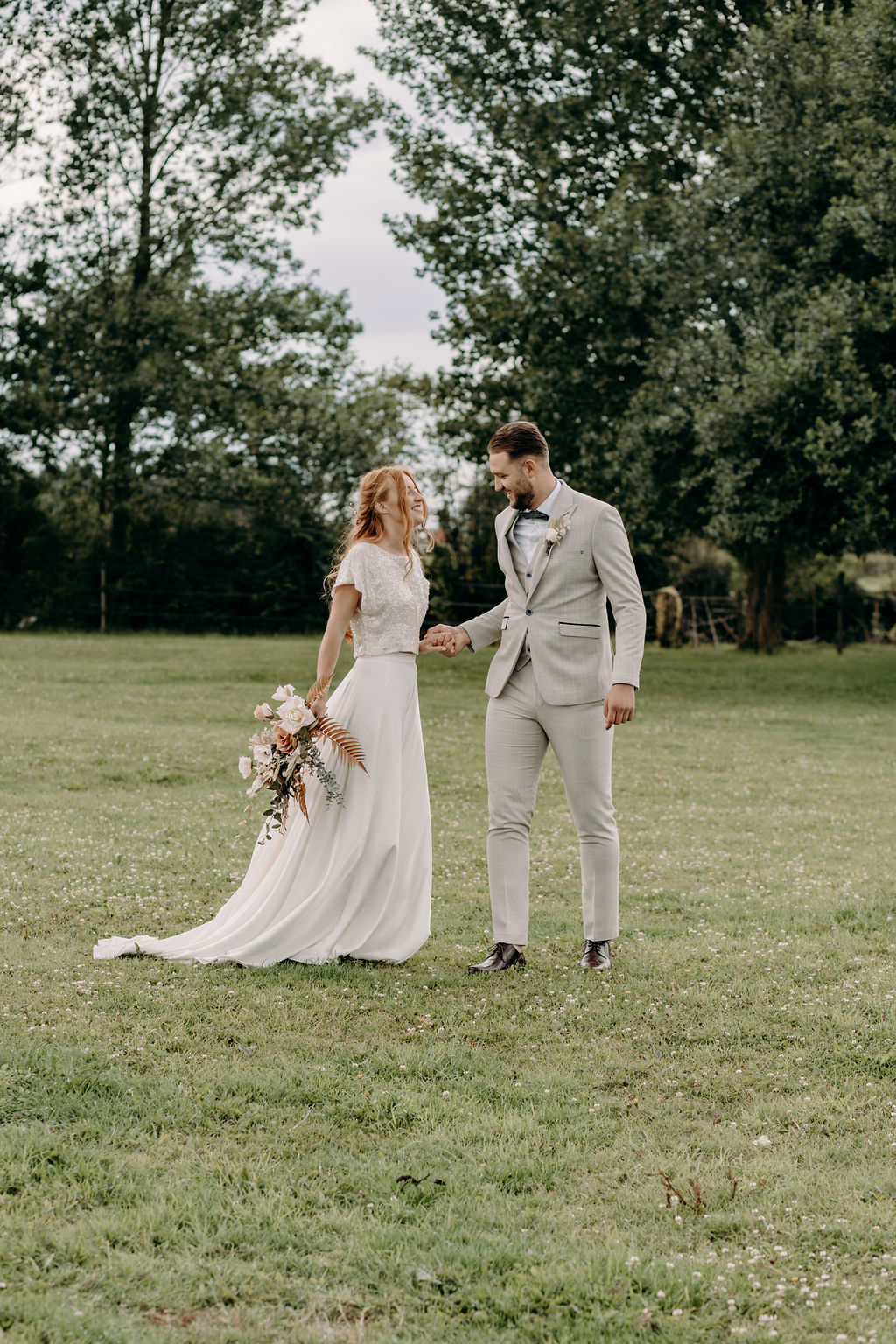 sustainable boho wedding - bohemian micro wedding - boho elopement - sustainable wedding - unconventional wedding - boho bridal wear