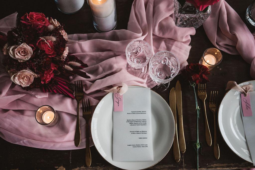 modern industrial wedding - alternative wedding - unconventional wedding - edgy wedding - modern wedding table - unique wedding styling - edgy wedding styling