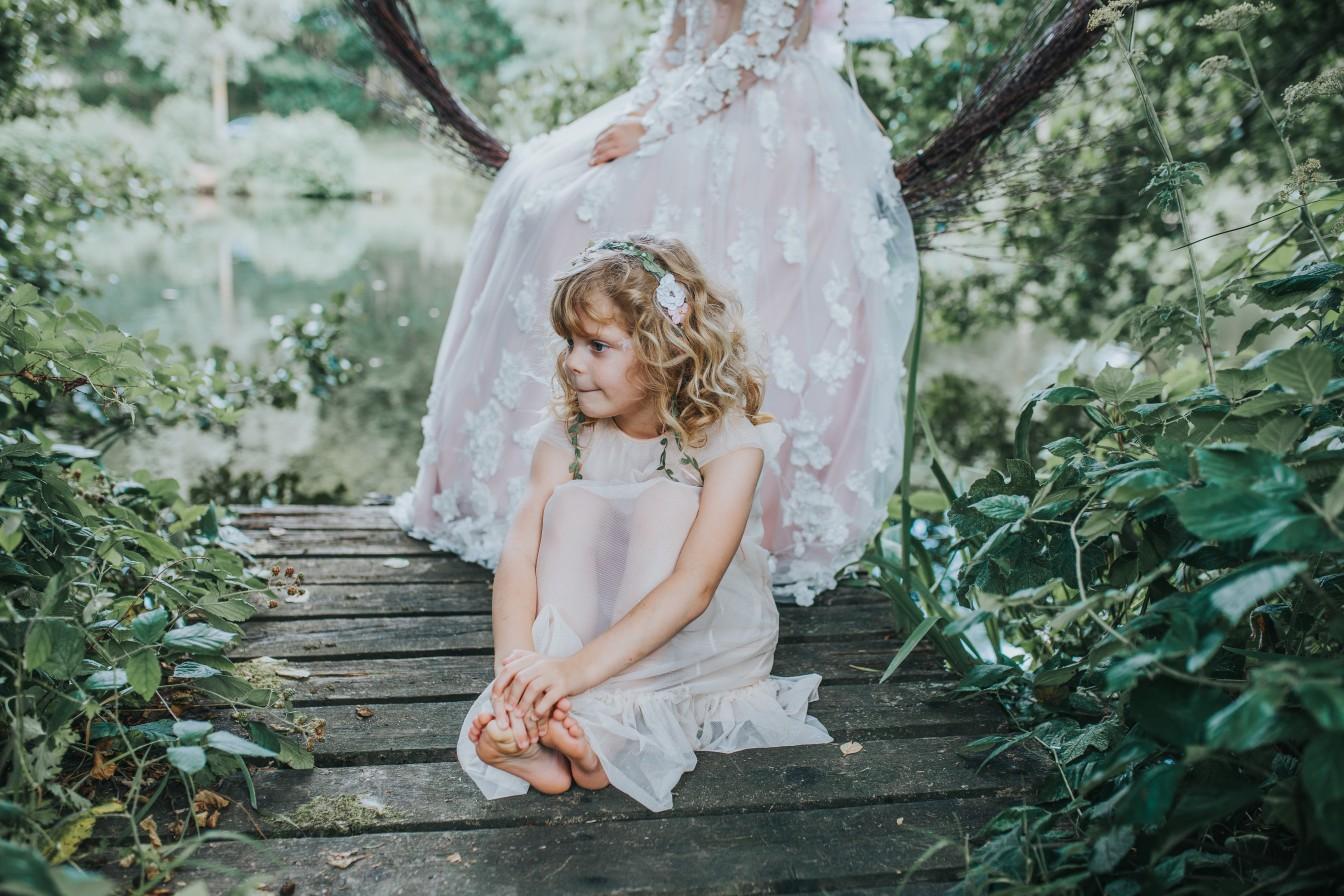fairy wedding - whimsical wedding - magical wedding - fairy bridesmaid - bohemian bridesmaid