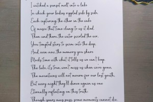 The Occasional Sonnet - 2