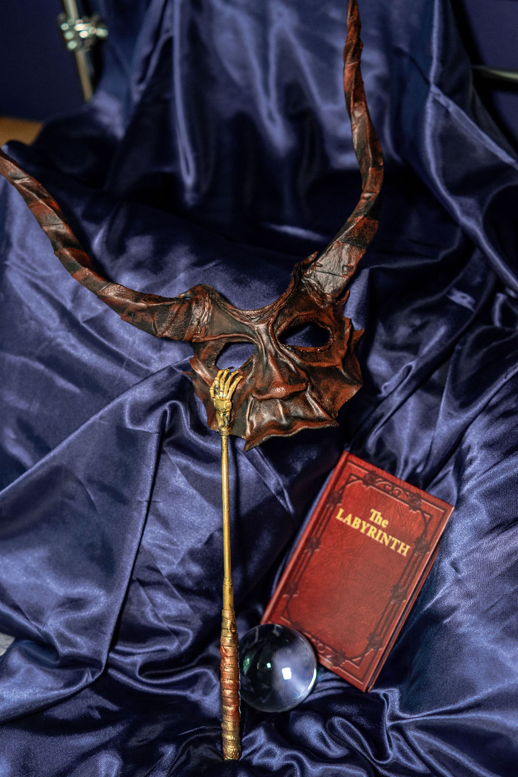 The Labyrinth book with mask
