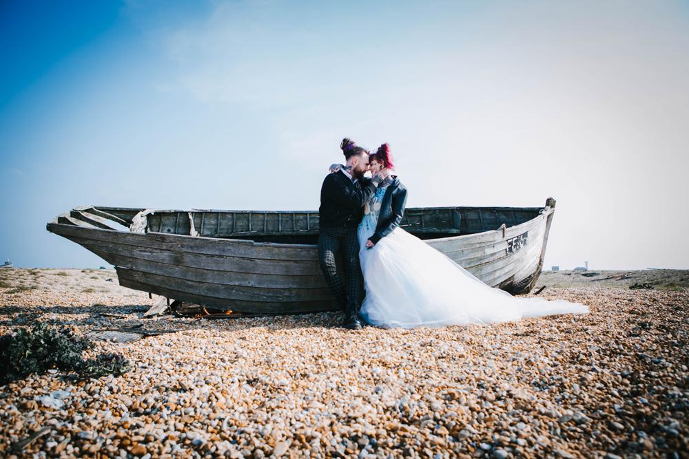 Road trip wedding inspiration - beach wedding inspiration - alternative wedding inspiration