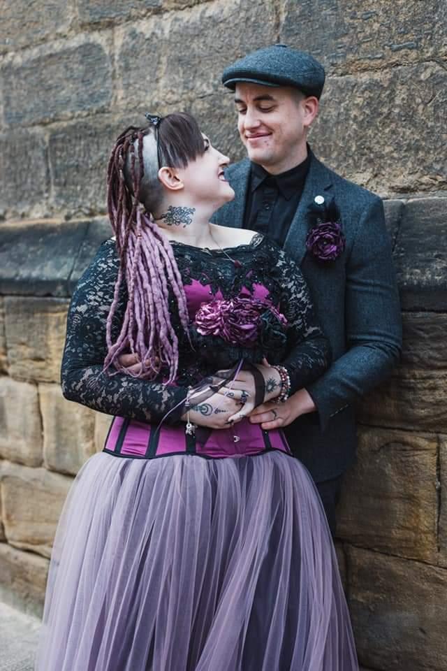 Corsetry and Couture - alternative bridal wear - unique wedding dresses - bespoke wedding dress uk - gothic wedding dress