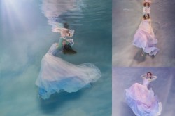 Corsetry and Couture - alternative bridal wear - unique wedding dresses - bespoke wedding dress uk - underwater bridal shoot