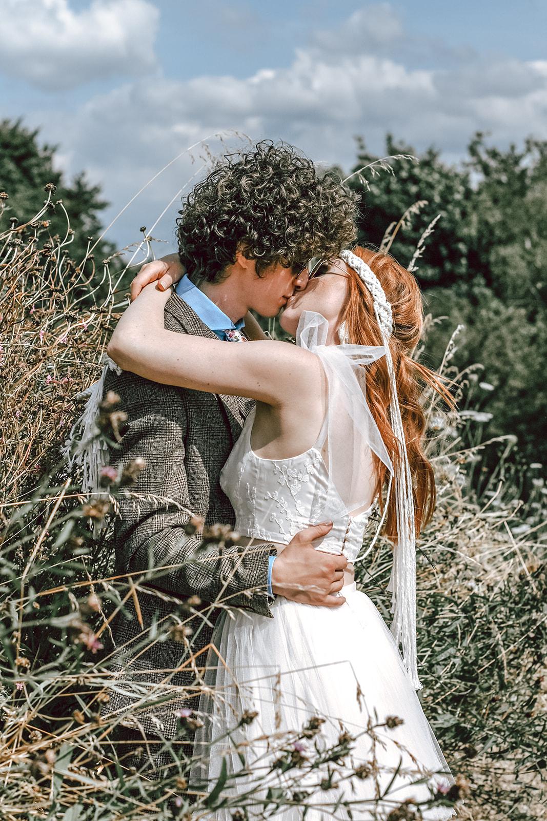 rustic festival wedding - outdoor wedding - modern boho wedding - farm wedding