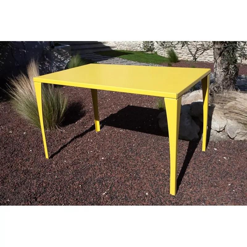 table de jardin metal made in france