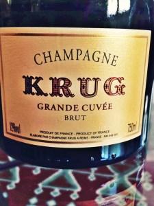 Krug Grande Cuvee- 2013 disgorging