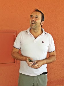 Colleague & Rocca Winemaker Massimo Cassegrande