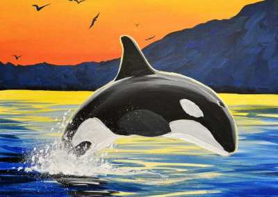 Flying Orca