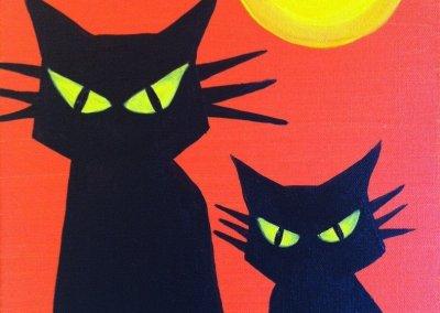 Kids Black Cat