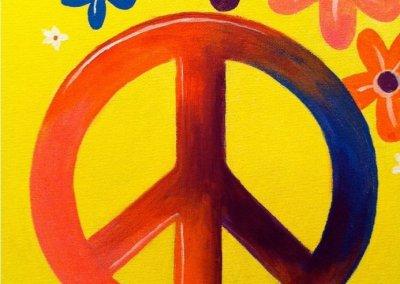 Kids Peace Sign