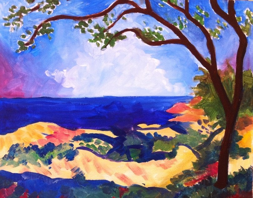 Matisse's View of the Sea
