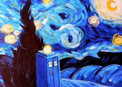 Starry Tardis