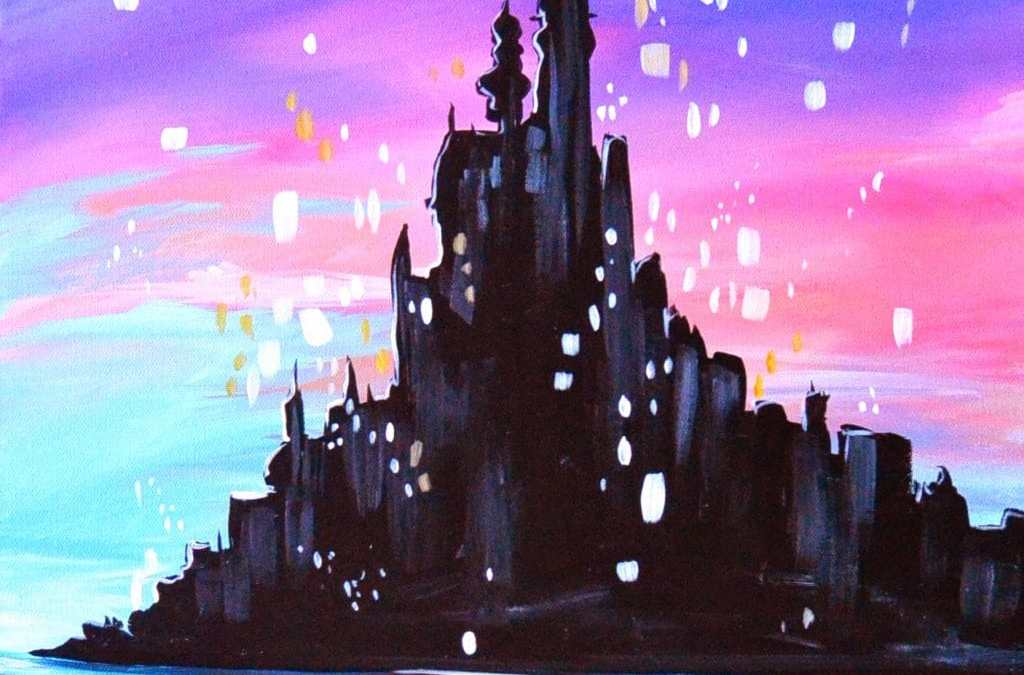 Tangled Princess Castle