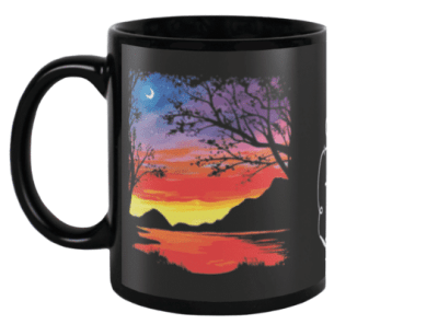 Along the Water Mug