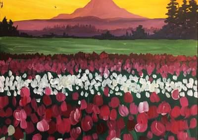 Rainier + Tulips