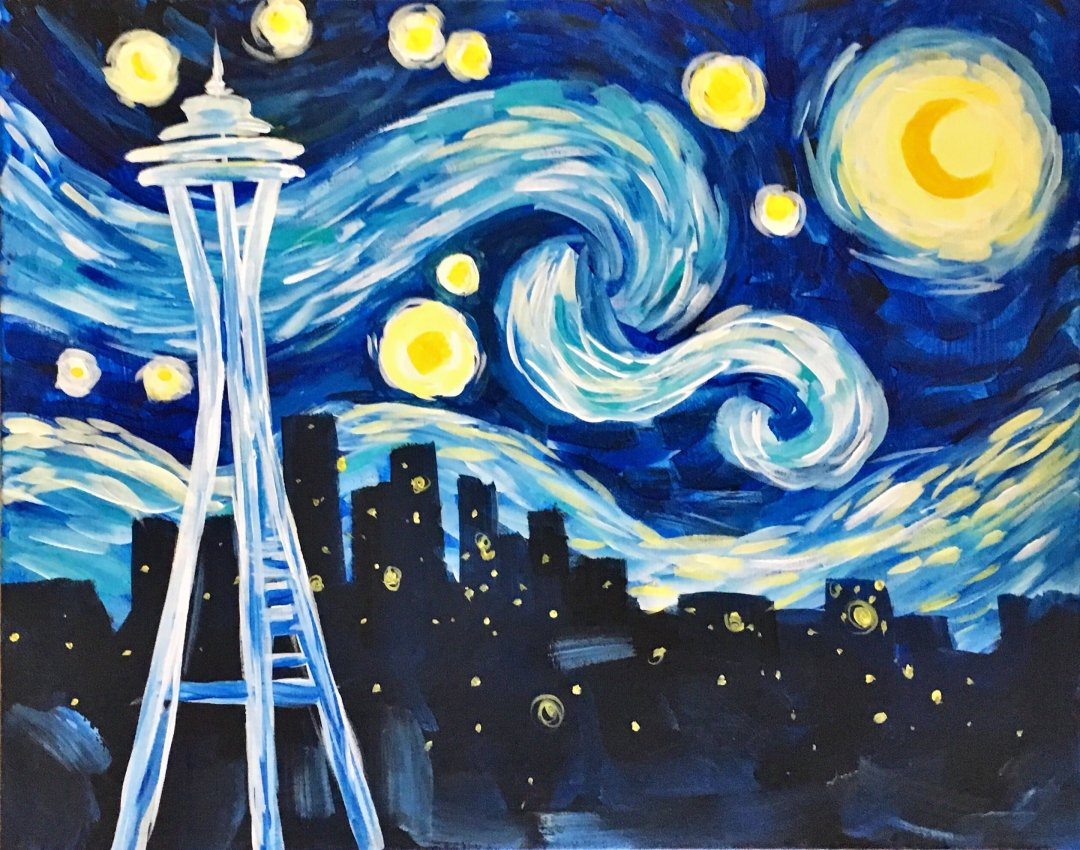 Starry Night Seattle