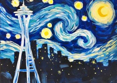 Starry Night Seattle