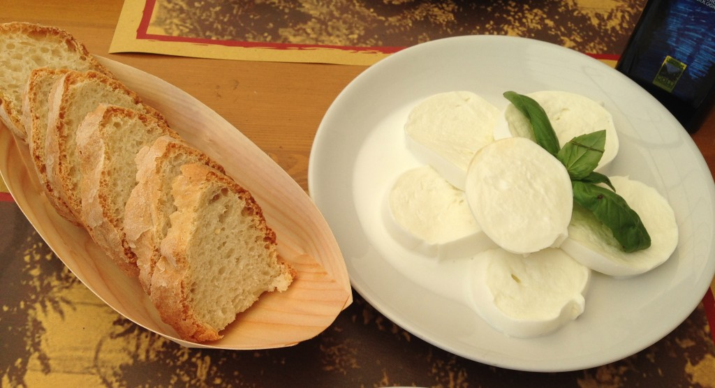 bread + mozz