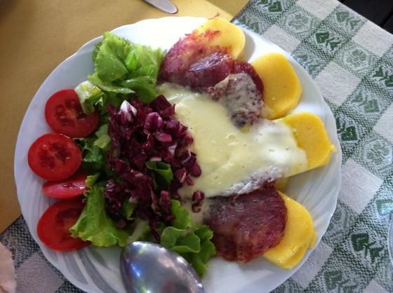 lunch at Porchetta