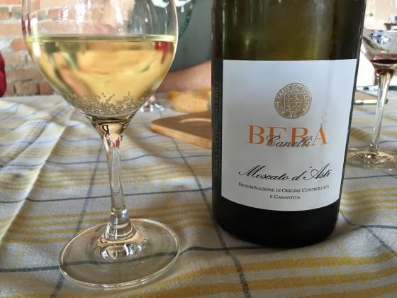 Moscato wine