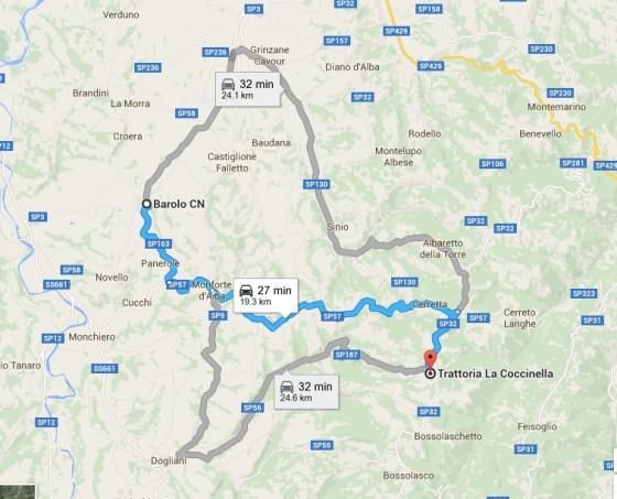 Coccinella map