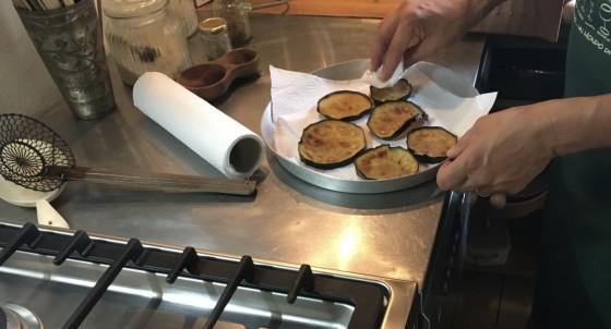 eggplant drying