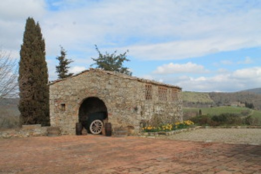 Fattoria Tregole ~ Remnants of the original farm c. 16th century