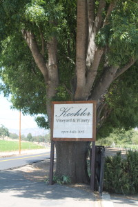 """Koehler Winery is a definite """"must stop"""" on the Foxen Canyon Wine Trail!"""
