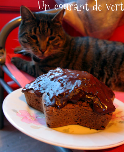 Un gâteau qui faisait de l'oeil à Loukoum.