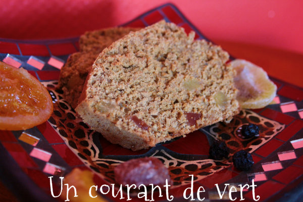 cake aux fruits confis