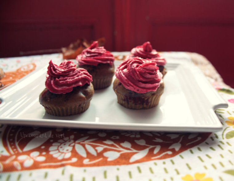 cupcakes betteraves cranberries