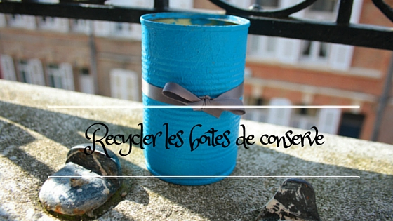 Conserve recycler en pot