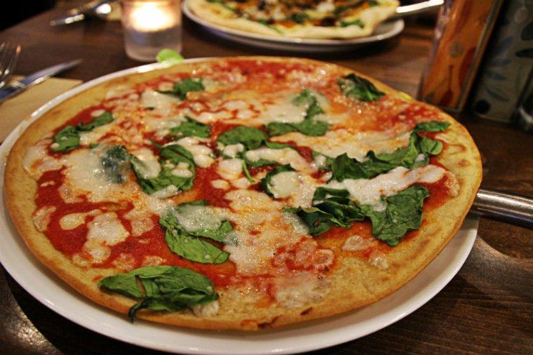 pizza vegan no glu