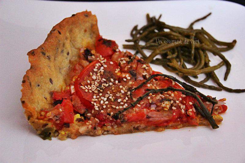 tarte du pêcheur à la tomate