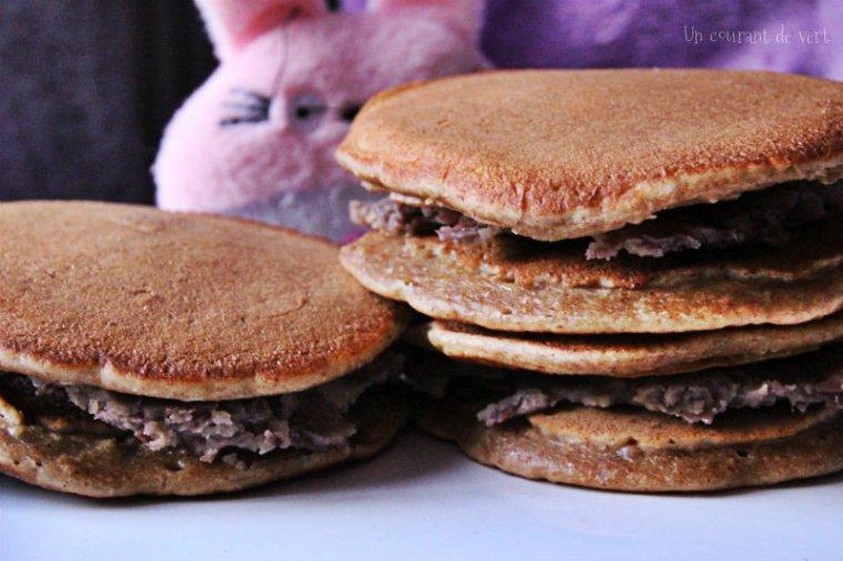pancakes façon dorayakis vegan