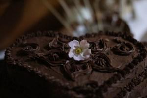gâteau mariage végane