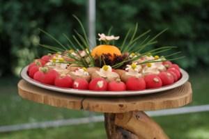 légumes vin d'honneur mariage