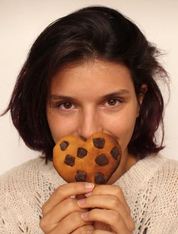 Marine avec un cookie