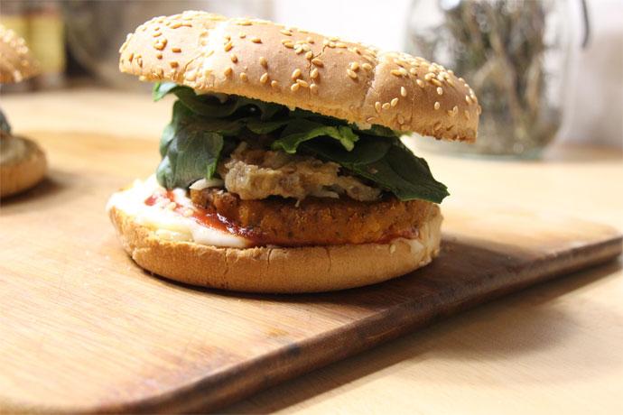 burger végane express