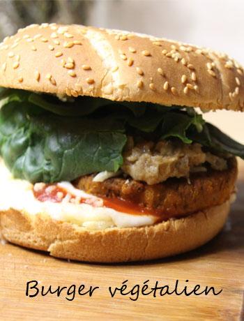 burger végétalien express