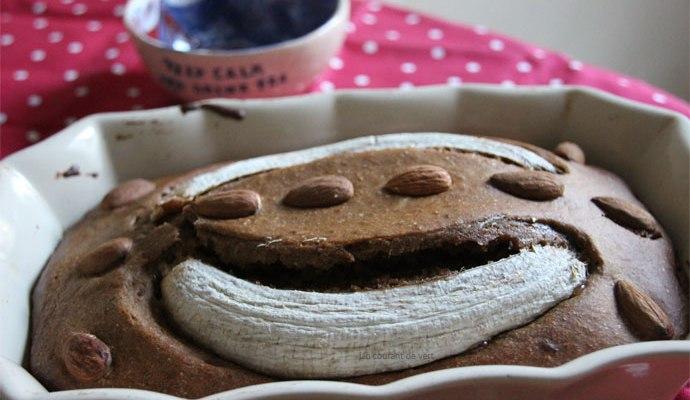 gâteau à la banane végane
